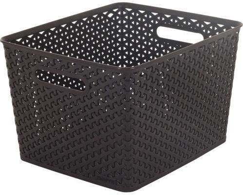 CURVER MY STYLE L 18L úložný box 35x30x22cm hnědý 03612-210