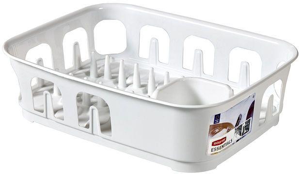 CURVER ESSENTIALS odkapávač na nádobí 10,9 x 29 x 39,1 cm bílý 00743-059