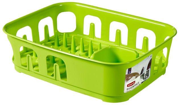 CURVER ESSENTIALS odkapávač na nádobí 10,9 x 29 x 39,1 cm zelený 00743-598