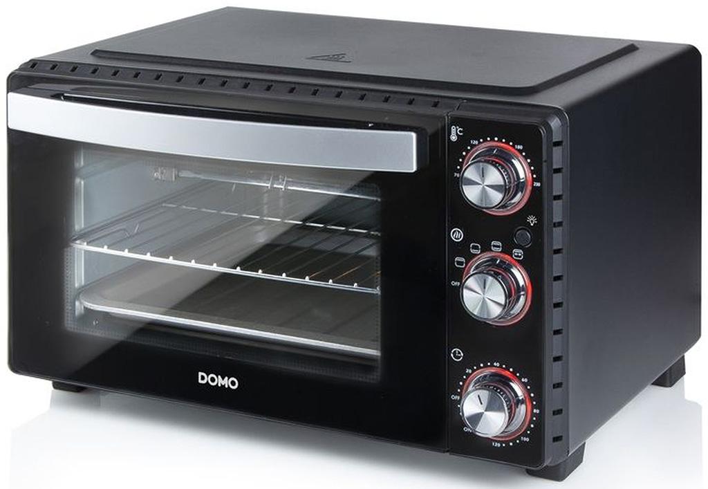 DOMO Elektrická mini trouba s grilem 1400-1650 W DO1027GO