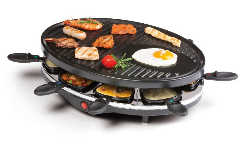 DOMO Raclette gril pro 8 osob DO9038G