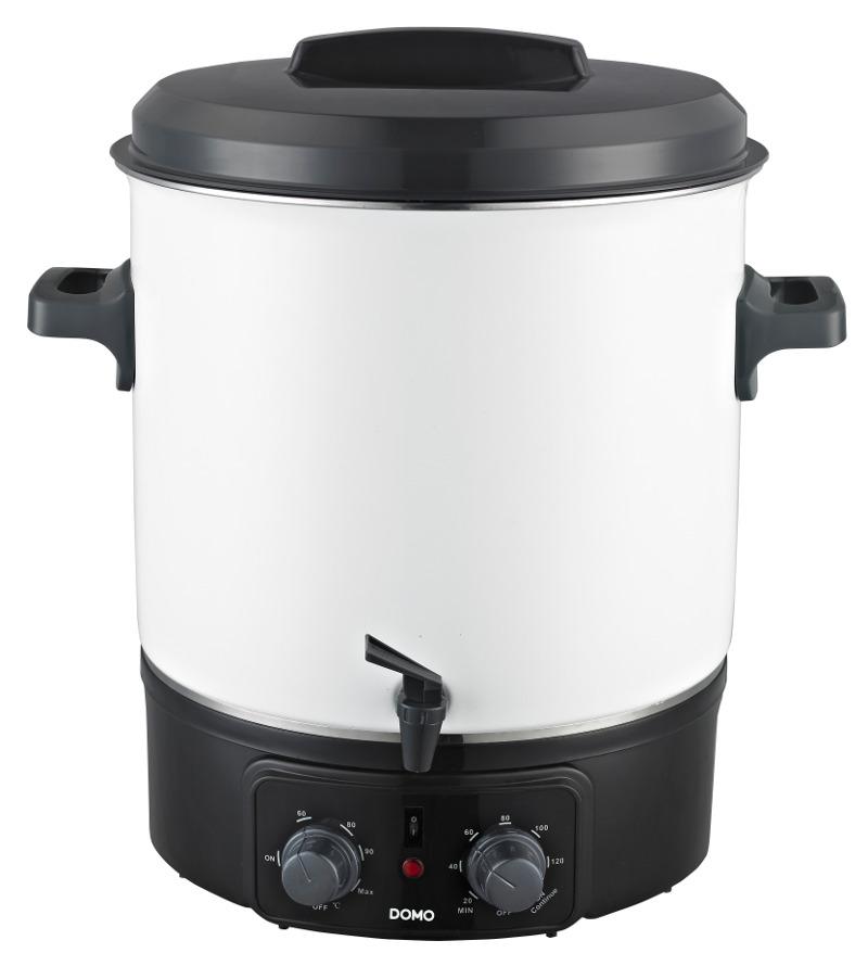 DOMO Zavařovací hrnec elektrický - smalt DO322W