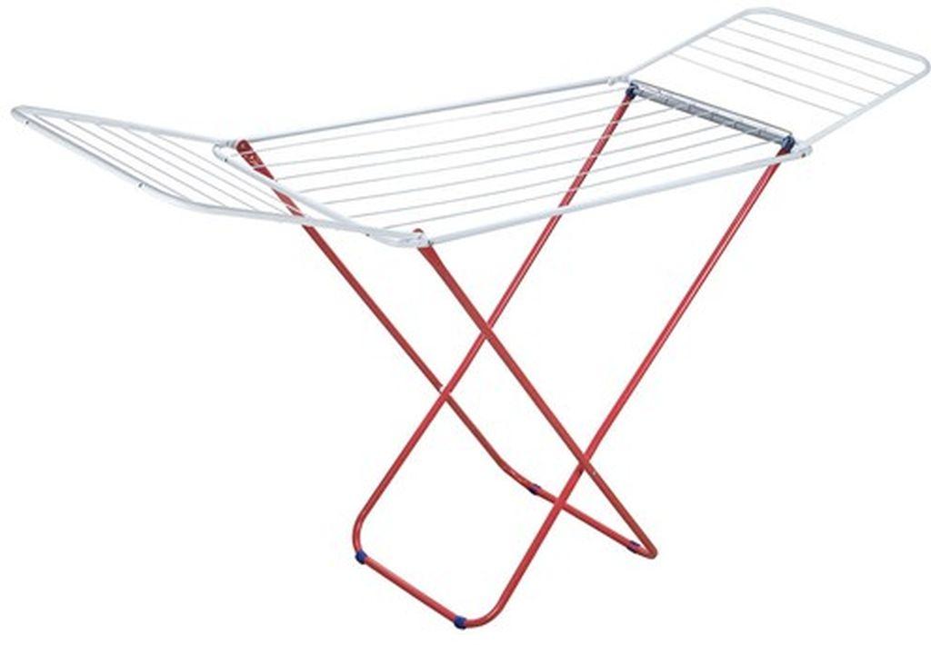 BRILANZ ECONOMY Sušák na prádlo 16 m, bílá/červená 01501016