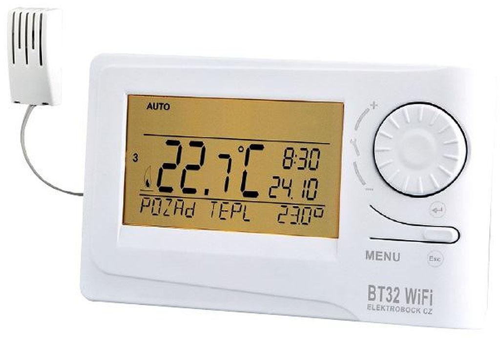 ELEKTROBOCK BT32 WIFI Bezdrátový termostat s RF a WIFI 6225
