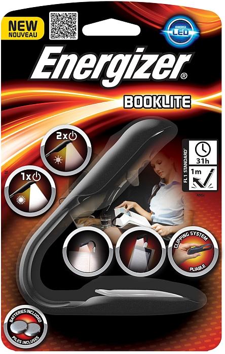 ENERGIZER Svítilna BOOKLITE CLIP 50000771