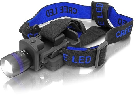 ERBA LED čelovka se ZOOMem ER-25511