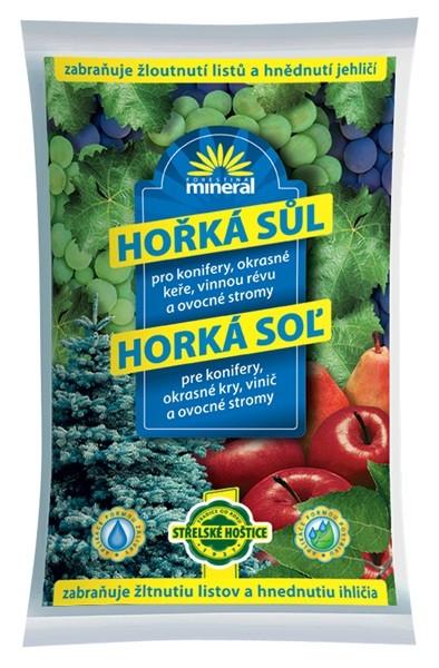 Mineral Hořká sůl 1kg - proti žloutnutí listí a jehličí 1209055