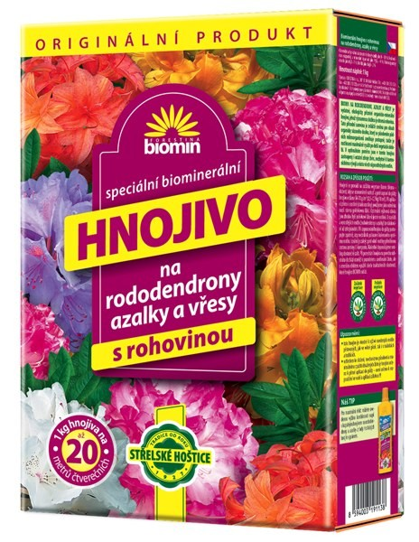 Biomin Hnojivo na rododendrony 1kg 1202007