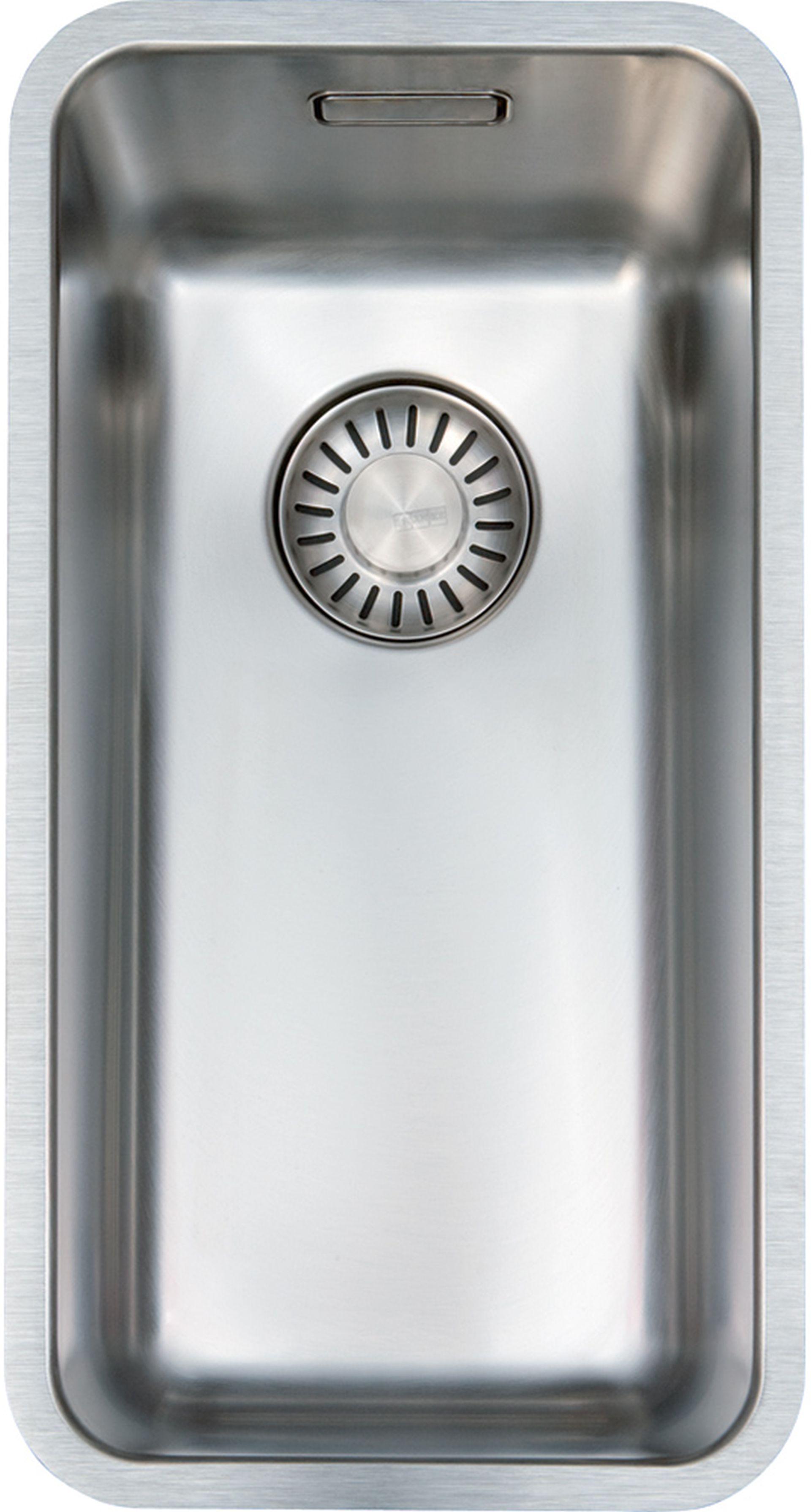 Franke Kubus KBX 110-20, 230x430mm, nerezový dřez 122.0502.879
