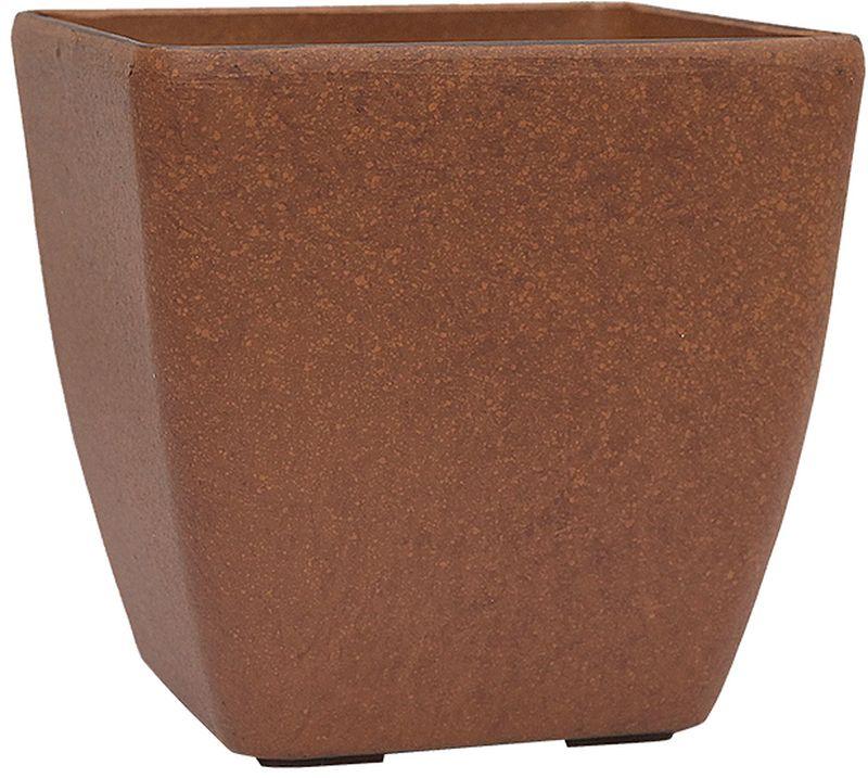G21 Element Cube Květináč 35x34x35 cm, hnědá 639276