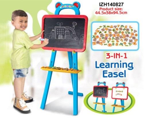 Dětská tabule G21 magnetická 3in1 690683
