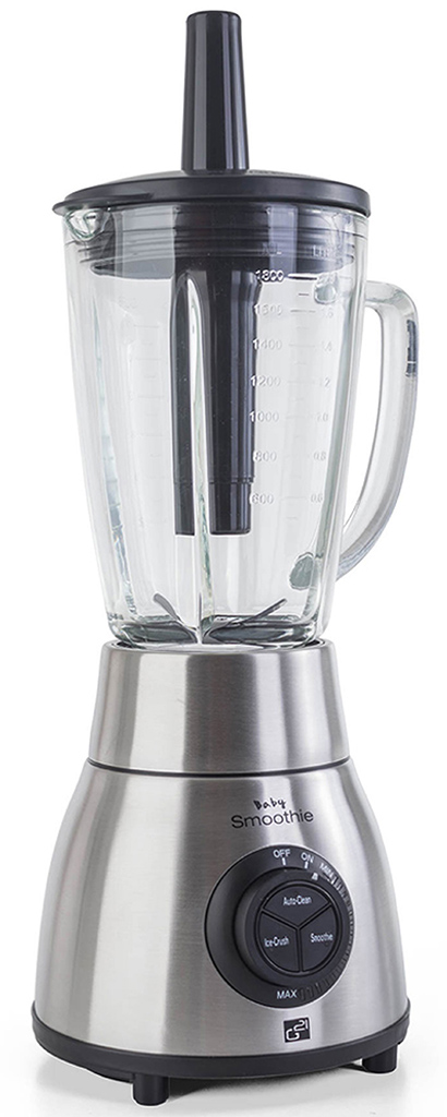 G21 Blender Baby smoothie, Stainless Steel 600855