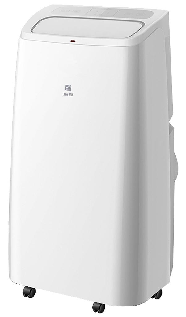 G21 Klimatizace Envi 12H mobilní s vytápěním, 12000BTU, odvlhčování 28,8l/24h, dálkové ovládání, WiFi 770052