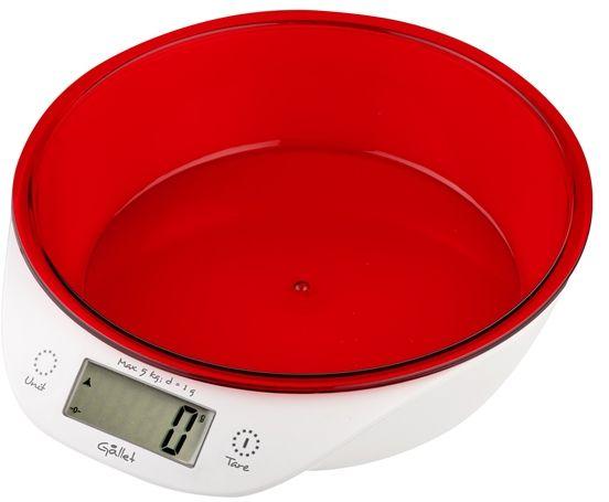 GALLET BAC 867 R Blou Elektronická kuchyňská váha
