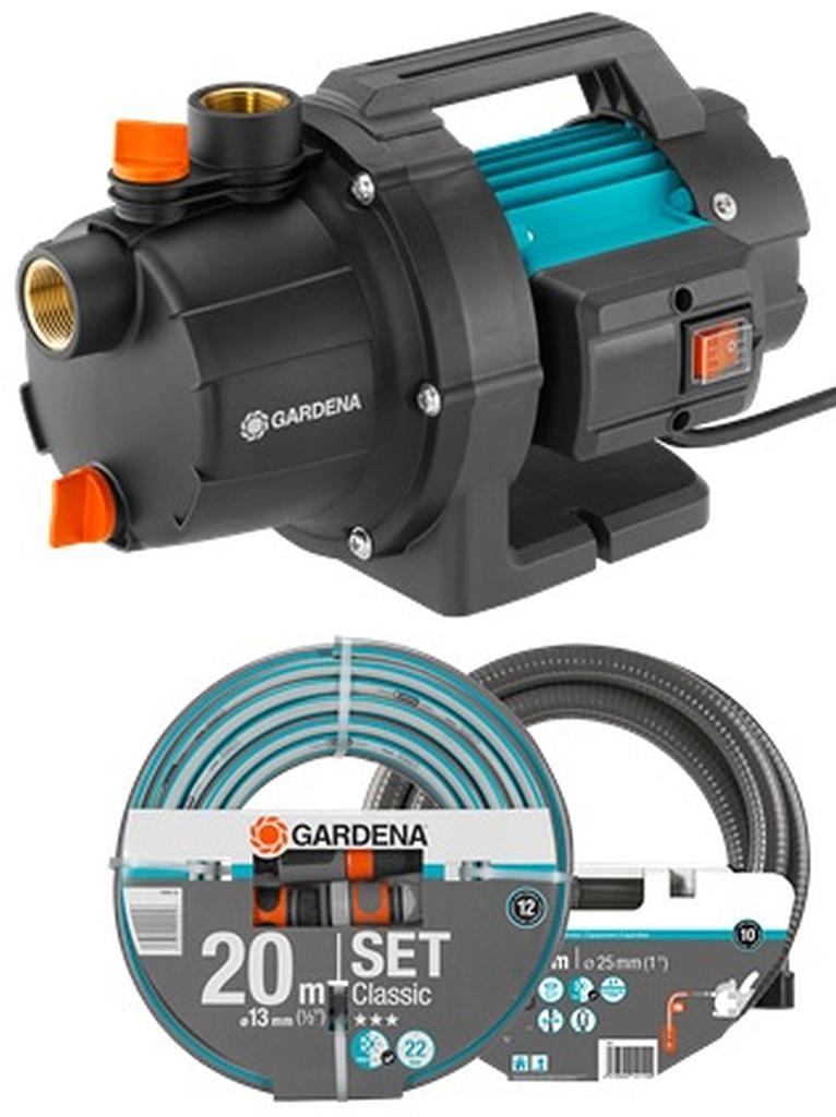 GARDENA 3000/4 Zahradní čerpadlo 600 W, sada 9011-29