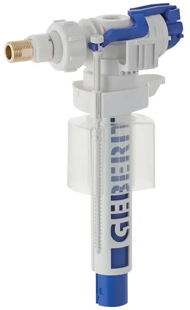 """Geberit Napouštěcí ventil typ 380, boční přívod vody, 3/8"""", spojky z mosazi 240.700.00.1"""