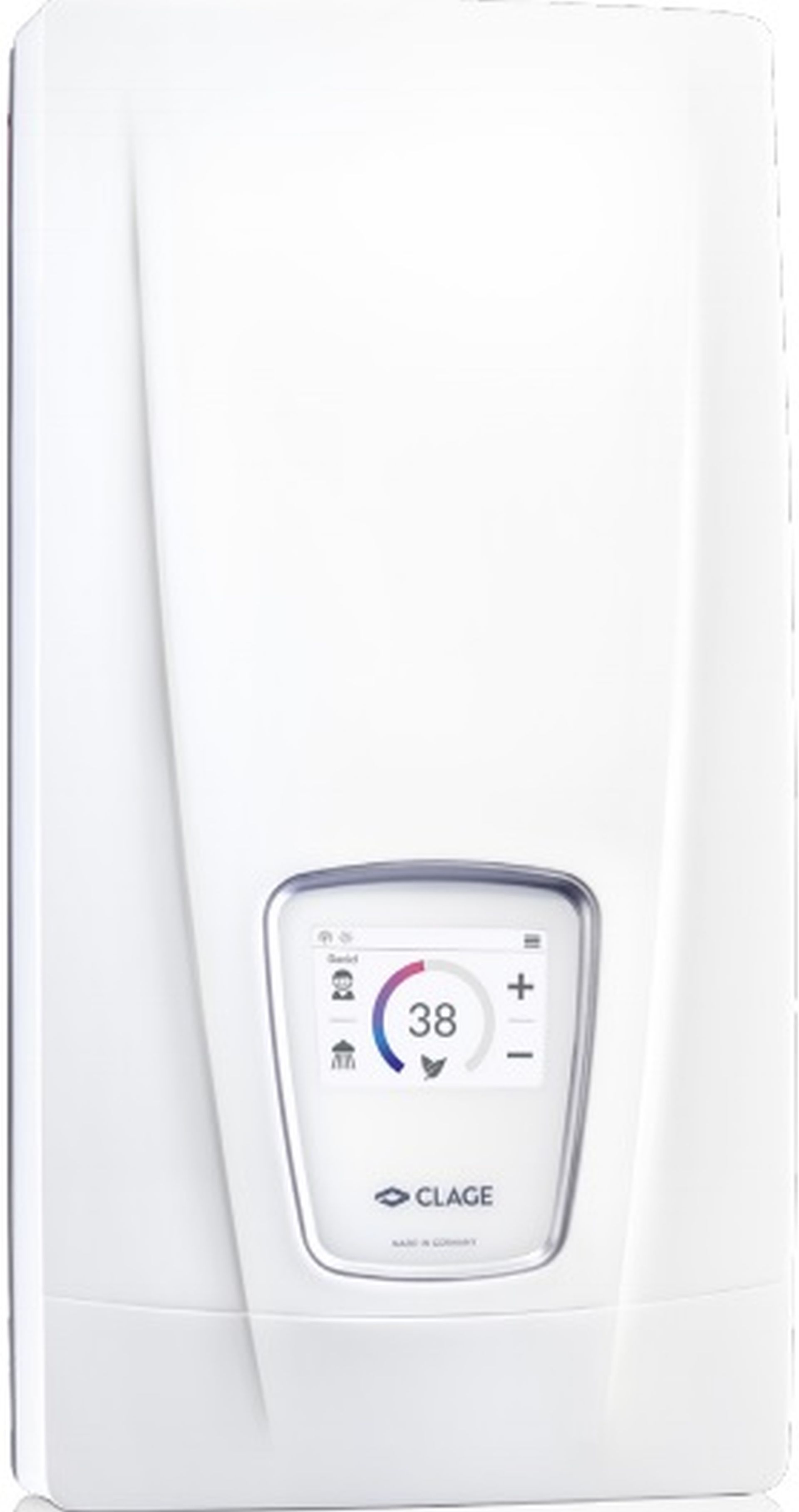 CLAGE DSX Touch Průtokový ohřívač vody 18..27kW/400V 3200-36600