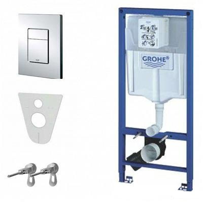 GROHE Rapid SL pro závěsné WC (38528SET) 38772001