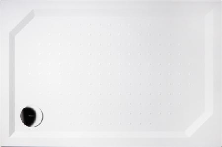 GELCO G5 Sara obdélníková sprchová vanička 100x90 hladké dno, bílá HS10090