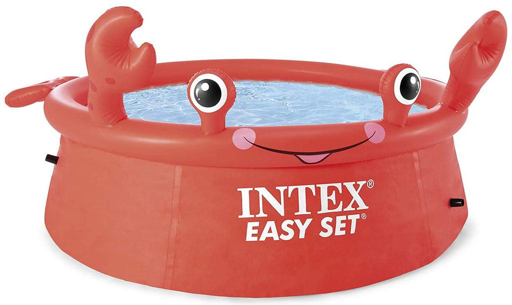 INTEX Bazénový set Happy Crab Easy 183cm x 0,51 cm 26100NP