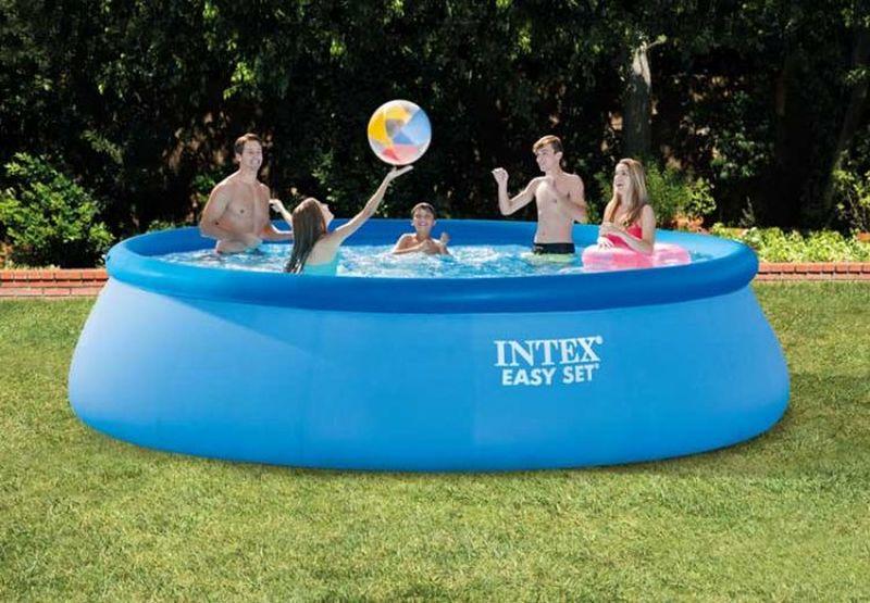 INTEX Bazén Easy set 4,57 x 1,07 m s kartušovou filtrací 26166NP