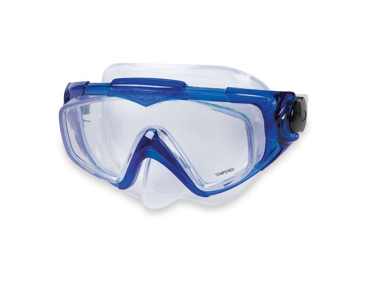 INTEX AQUA SPORT Silikonová maska pro potápění, modrá 55981