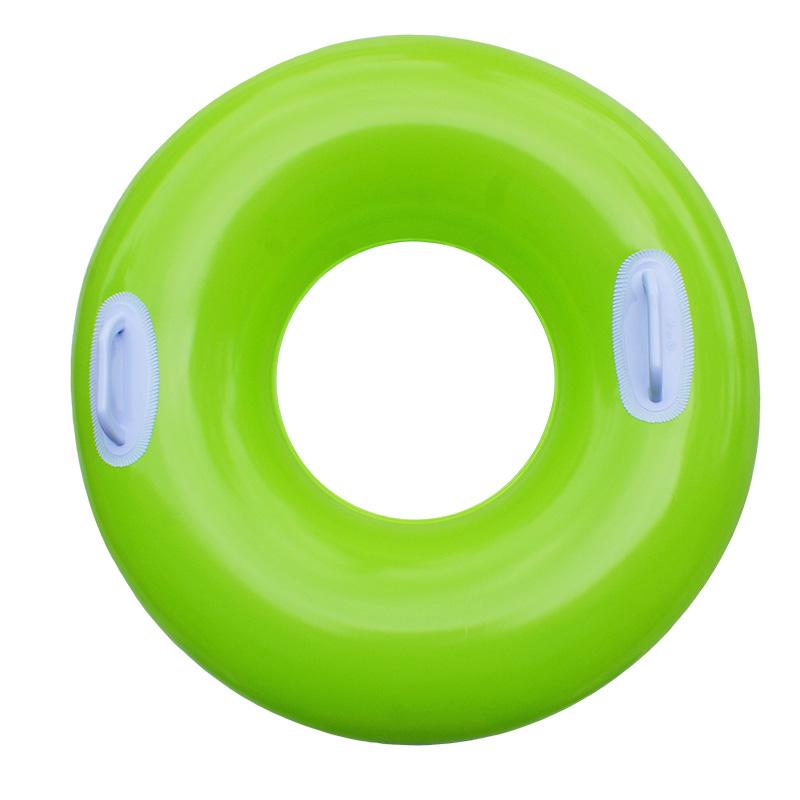 INTEX Plovací kruh 76 cm zelený 59258NP