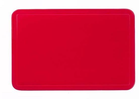 KELA Prostírání UNI červené, PVC 43,5x28,5 cm KL-15001