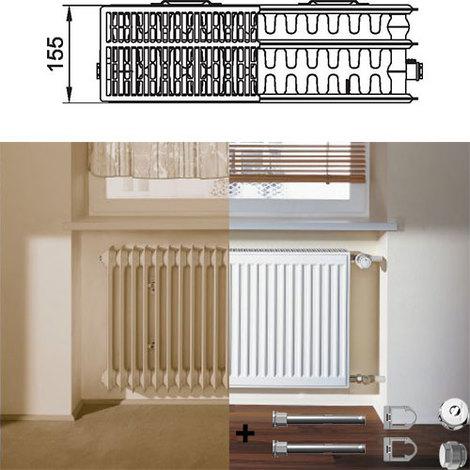 Kermi Therm X2 Profil-kompakt deskový radiátor pro rekonstrukce 33 954 / 400 FK033D904