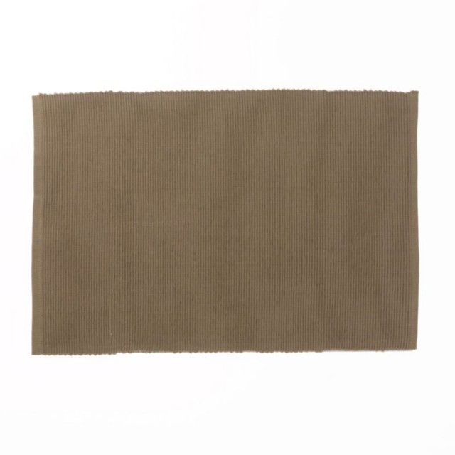 KELA Prostírání 48 x 33 cm PUR, hnědá KL-77789