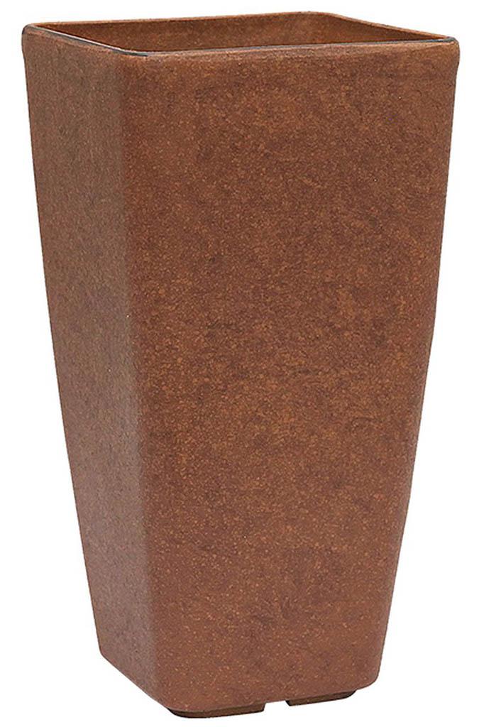 G21 Element Linea Květináč 22x42x22 cm, hnědá 639277