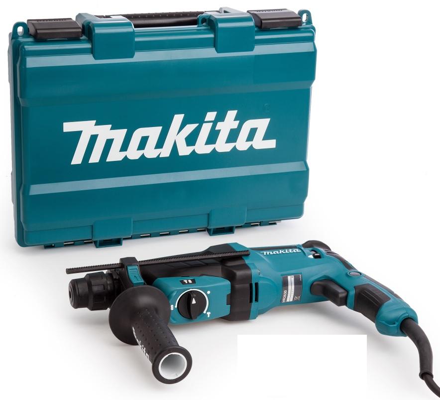 MAKITAHR2630X7 Kombinované kladivo 2,4J,800W s příslušenstvím