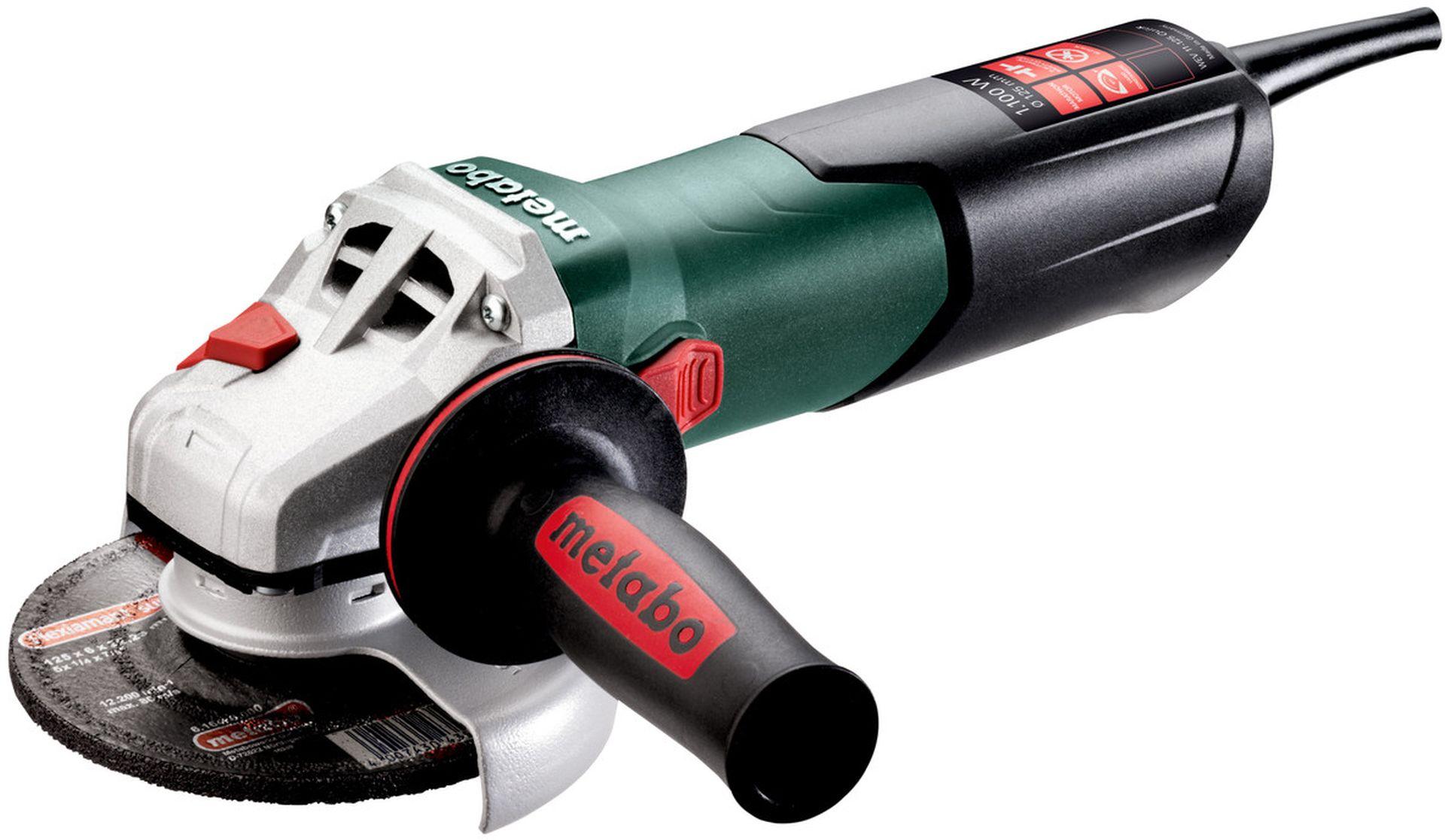 Metabo 603625000 WEV 11-125 Quick Úhlová bruska 125mm, 1100W