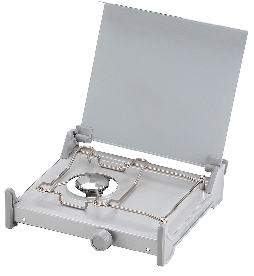 MEVA stolní plynový vařič RIGA 1 nízkotlaký s víkem 2323B