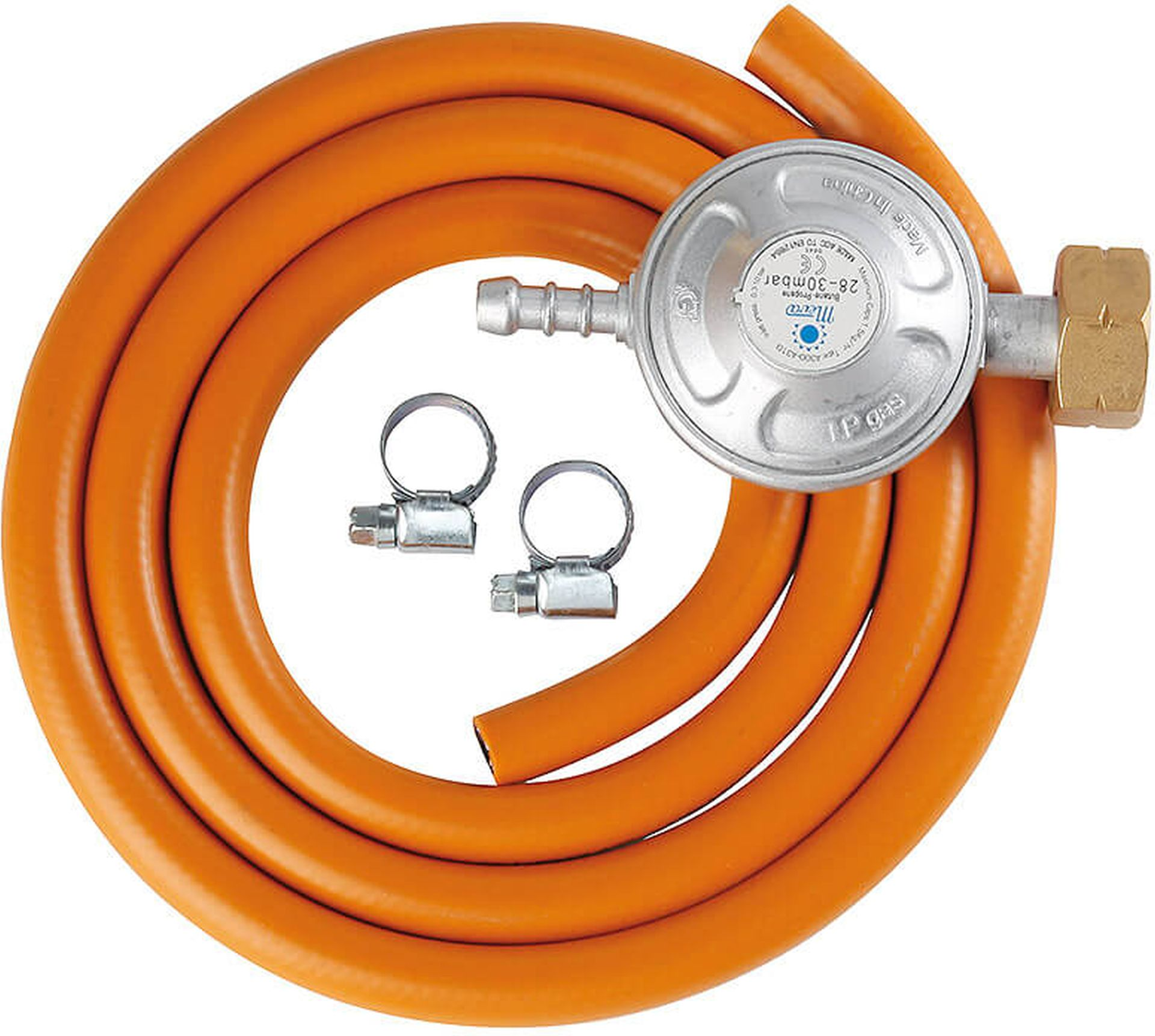 MEVA Hadice PB s regulátorem tlaku 30mBar - set originál, hadice 1,5m NP01007
