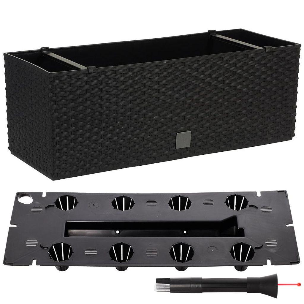 Prosperplast RATO CASE Truhlík +zavlažovací systém 60x25x24cm antracit DRTC600
