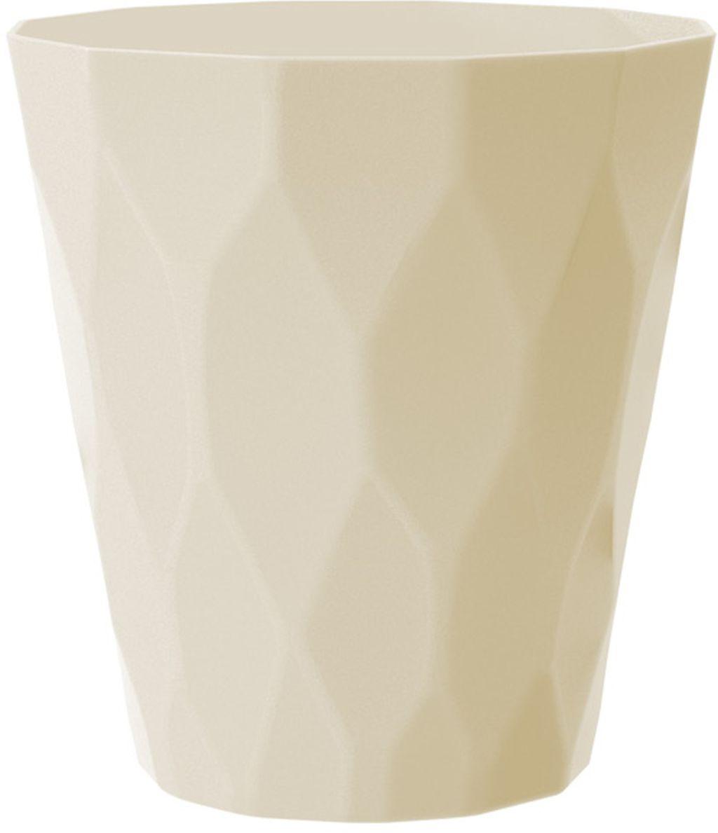 PROSPERPLAST ROCKA Květináč 14 cm, krémová DROC140