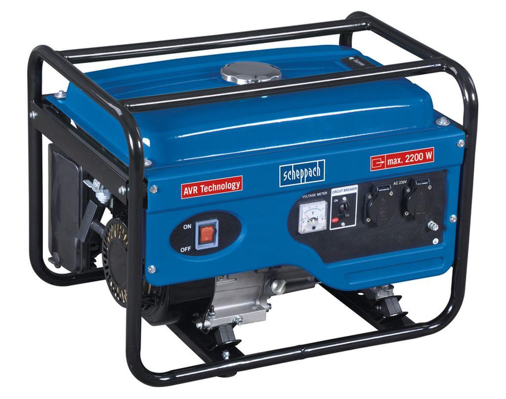 SCHEPPACH SG 2600 Rámová elektrocentrála 2 200W s regulací AVR 5906212901