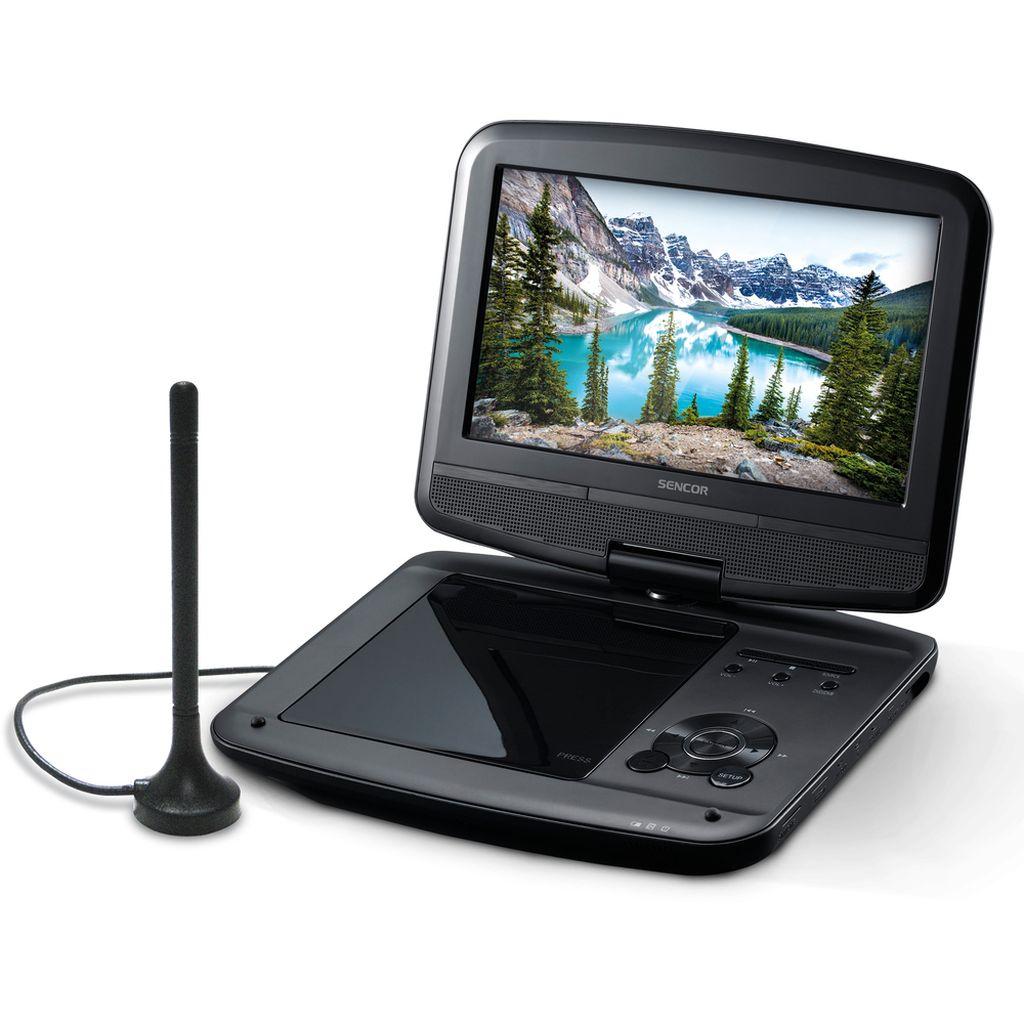 SENCOR SPV 7926T DVD+DVB-T2(HEVC) přenosný DVD přehrávač 35050654