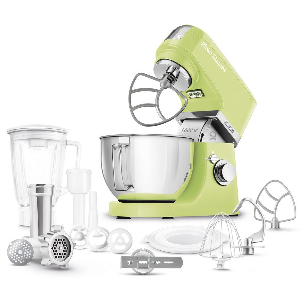 SENCOR STM 6357GG Kuchyňský Robot zelený 41006299
