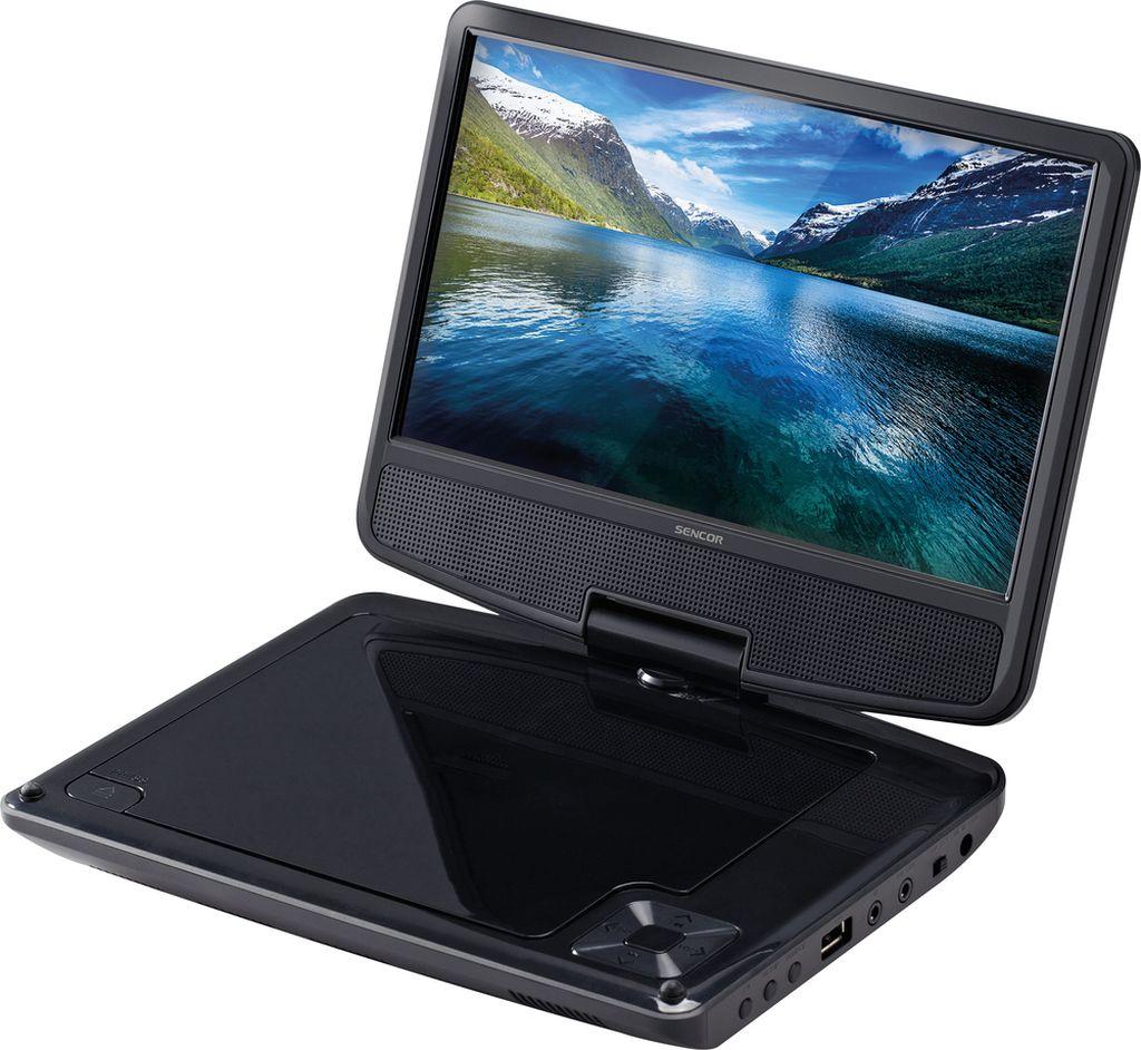 SENCOR SPV 2920 BLACK Přenosný DVD přehrávač 35048603