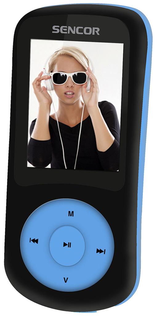 SENCOR SFP 5870 BBU 8 GB MP3/MP4 přehrávač 35042857
