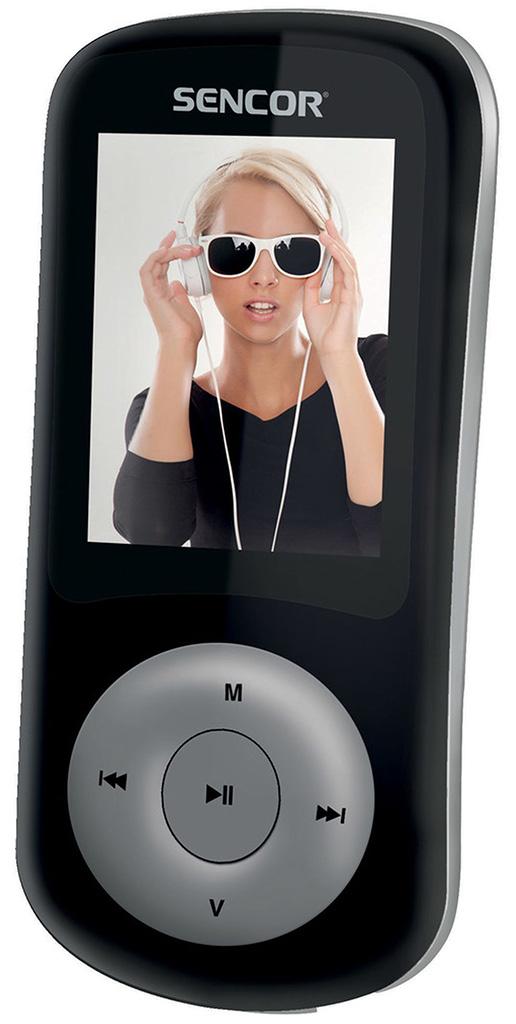 SENCOR SFP 5870 BS GB MP3/MP4 přehrávač 35045431