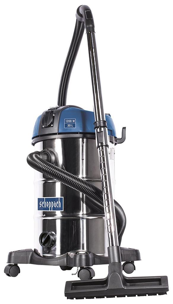 SCHEPPACH ASP 30 PLUS průmyslový vysavač na suché/mokré vysávání 30 l s mechanickým oklepem filtru 5907716903