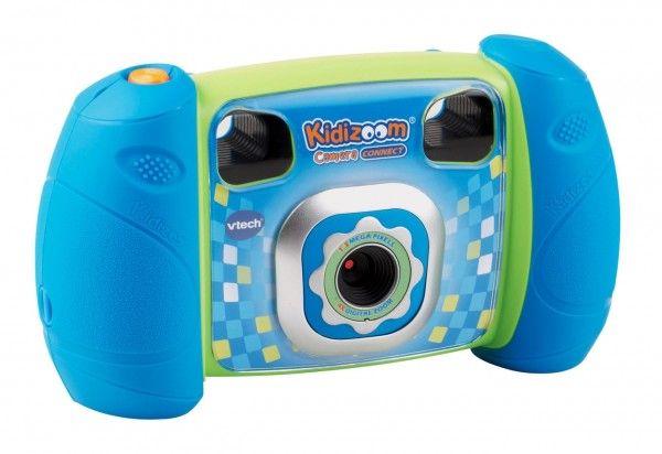 Kidizoom Kid Connect Fotoaparát - modrý Vtech plast 14cm na baterie 14140700