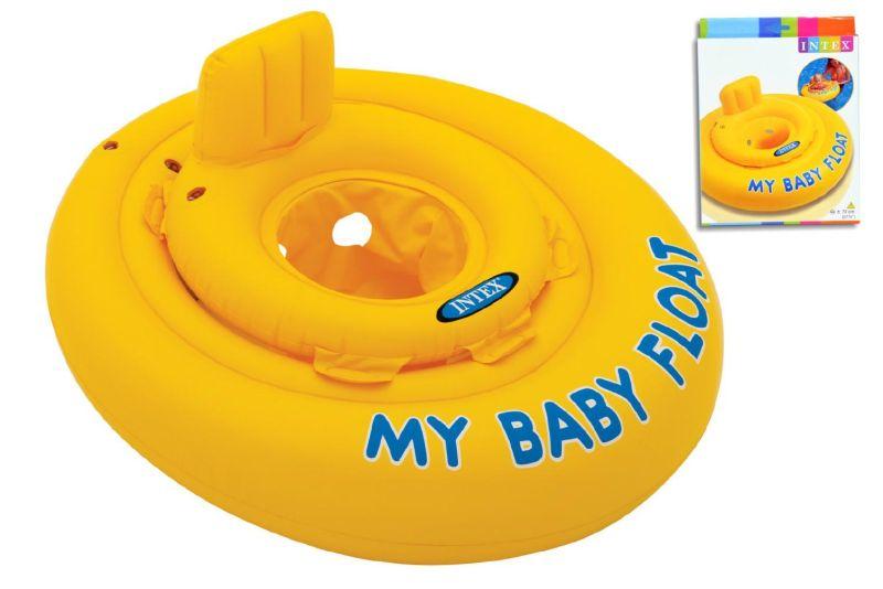 INTEX Baby Plovací kruh se sedátkem 70 cm, 56585